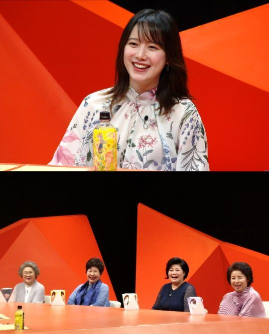 '미운 우리 새끼'에 출연하는 구혜선(첫 번째 사진)./사진제공=SBS