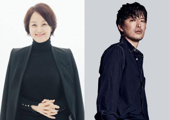 배우 배종옥(왼쪽), 정재영. / 사진제공=부산국제영화제