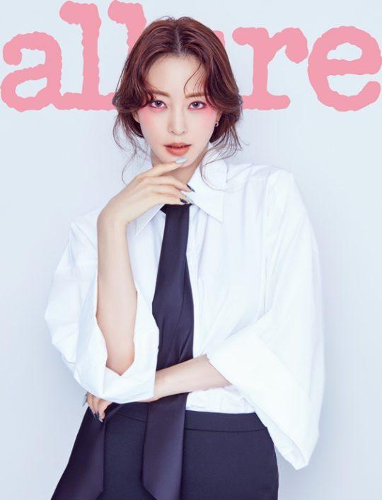 배우 한예슬./ 사진제공=얼루어