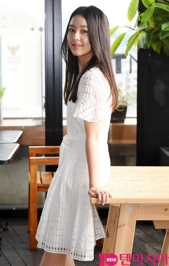 영화 '벌새'에서 은희 역을 연기한 배우 박지후./ 조준원 기자 wizard333@