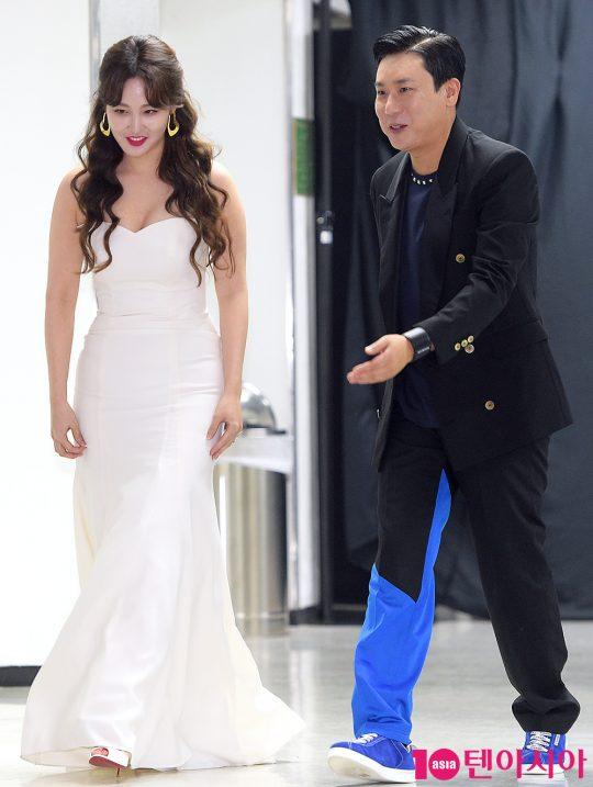 신아영 아나운서, 방송인 이상민