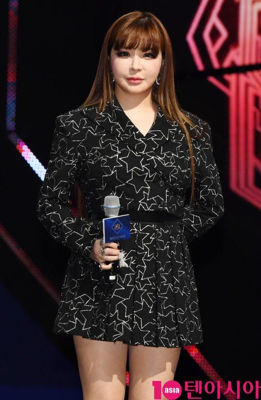[TEN PHOTO]박봄 '변함없는 뱀파이어 미모'