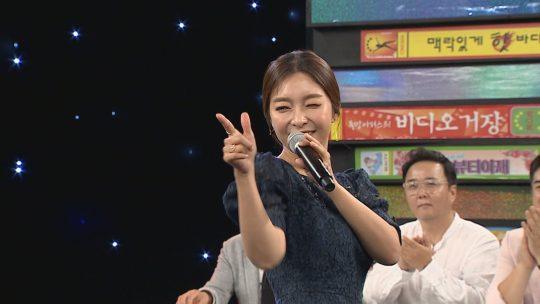 가수 이상미. / 제공=MBC 에브리원 '비디오스타'