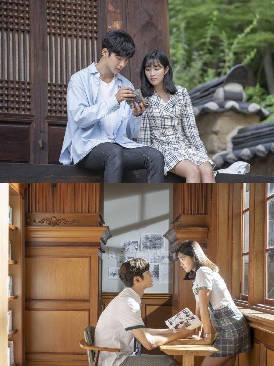 '어쩌다 발견한 하루' 김혜윤·로운, 만화 속 한 장면 같은 투샷 '두근두근'