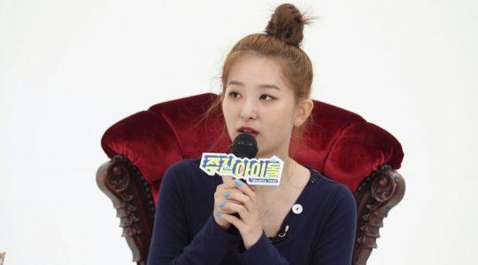 '주간아이돌' 레드벨벳의 슬기 / 사진제공=MBC 에브리원