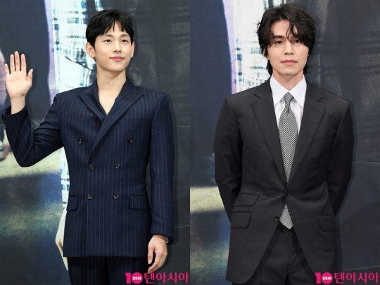 OCN 드라마틱 시네마 '타인은 지옥이다'에 출연한 배우 임시완과 이동욱./ 사진=이승현 기자 lsh87@