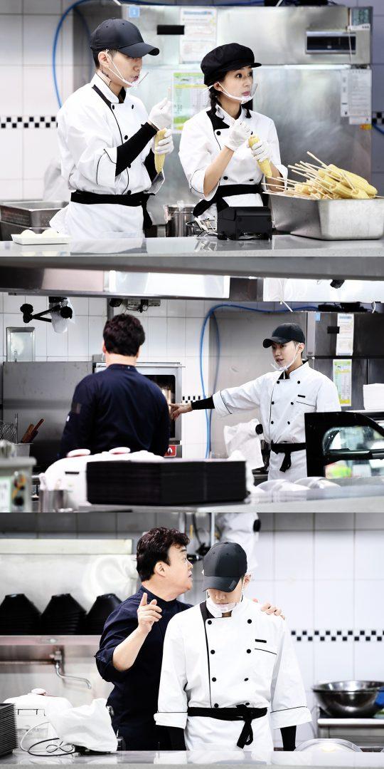 '맛남의광장' 백진희(첫 번째 사진 왼쪽부터), 박재범. /사진제공=SBS