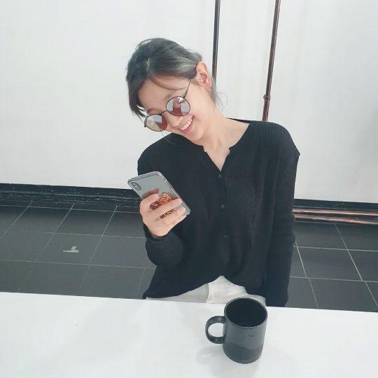 박소담, 산촌 벗어나서 연예인 포스 '뿜뿜'