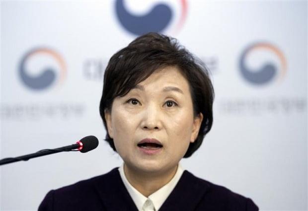 김현미 국토교통부 장관(자료 한경DB)