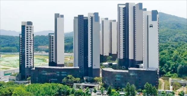 새 아파트 입주가 활발한 서울 강남구 개포동이 부촌으로 거듭나고 있다. 사진은 이달 입주할 예정인 '디에이치 아너힐즈(옛 개포주공3단지)'.  한경DB
