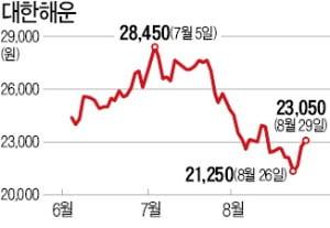 해운株 반등하나…운임지수 5년 만에 최고