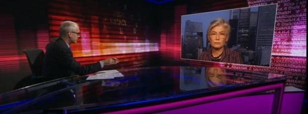 사진=강경화 장관, 영국 BBC와의 인터뷰 방송화면