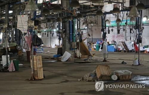 '명도집행 완료' 구 노량진수산시장, 철거까지 갈등 계속될 듯