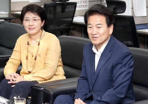 """정동영 """"탈당까지 이틀의 시간 있다…당으로 돌아오라"""""""