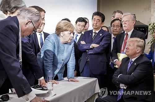 """""""올해 G7 정상회의, 사상 처음 공동선언 없이 끝날수도"""""""