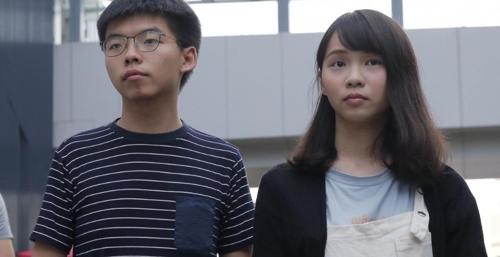 홍콩 정부 '강공'…'우산혁명' 주역 조슈아 웡 등 3명 체포(종합2보)