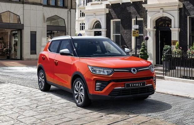 쌍용차가 올해 선보인 소형 SUV 베리 뉴 티볼리.