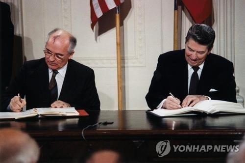 美 중거리핵전력조약 탈퇴 초읽기…군비경쟁 격화 우려