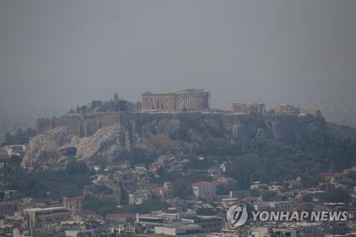 그리스 에비아섬 대형산불로 비상…휴가 간 총리도 급히 복귀