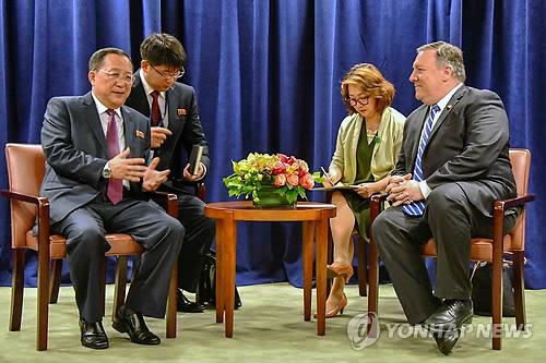 北, 내달 중순 유엔총회에 리용호 외무상 참석 통보