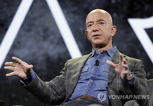 베이조스, 지난주 아마존 주식 3조4000억원어치 팔아