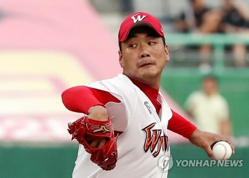 SK 김광현, MLB 6개 구단 스카우트 앞에서 시즌 15승(종합)