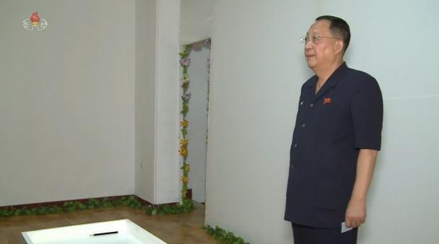 리용호 외무상/사진=조선중앙TV