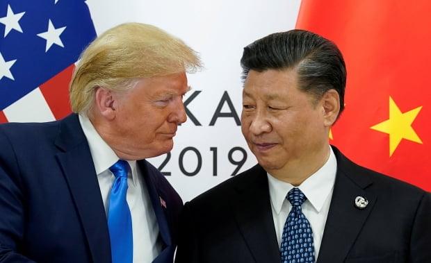 도널드 트럼프 미국 대통령(왼쪽)과 시진핑 중국 국가주석(사진=로이터)