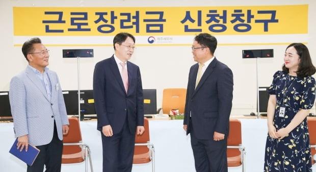 근로장려금 자격요건 / 사진=연합뉴스 (김현준 국세청장)