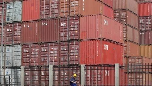 중국 톈진항의 컨테이너. 사진=로이터