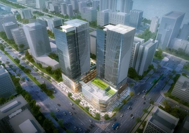 한라, 도시형 생활오피스 '송도 씨워크 인테라스 한라' 분양