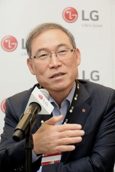 송대현 LG전자 생활가전(H&A) 사업본부장