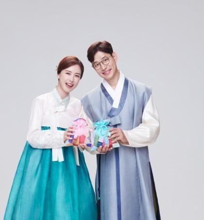 한국토지신탁 아파트 브랜드 '코아루' 모델로 선정된 배우 유준상·홍은희 부부.