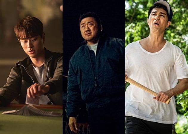 /사진=왼쪽부터 영화 '타짜:원 아이드 잭', '나쁜녀석들:더 무비', '힘을내요, 미스터 리' 스틸