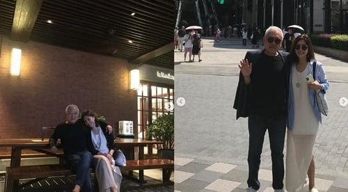 김한길 투병근황 / 사진 = 최명길 SNS