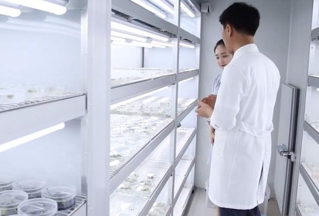 농우바이오 생명공학 연구소 내부 [사진=농우바이오 인스타그램]