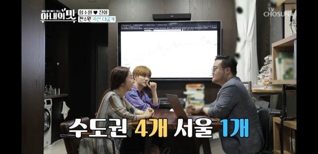 함소원/사진=TV조선 '아내의 맛' 영상 캡처