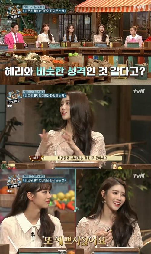 러블리즈 미주/사진=tvN