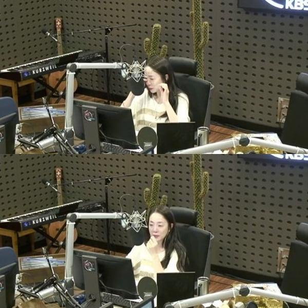 박은영 아나운서/사진=KBS 쿨FM 'FM대행진' 보이는 라디오 캡처
