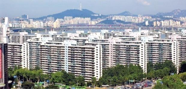 송파구 잠실5단지 주공아파트 /한경DB