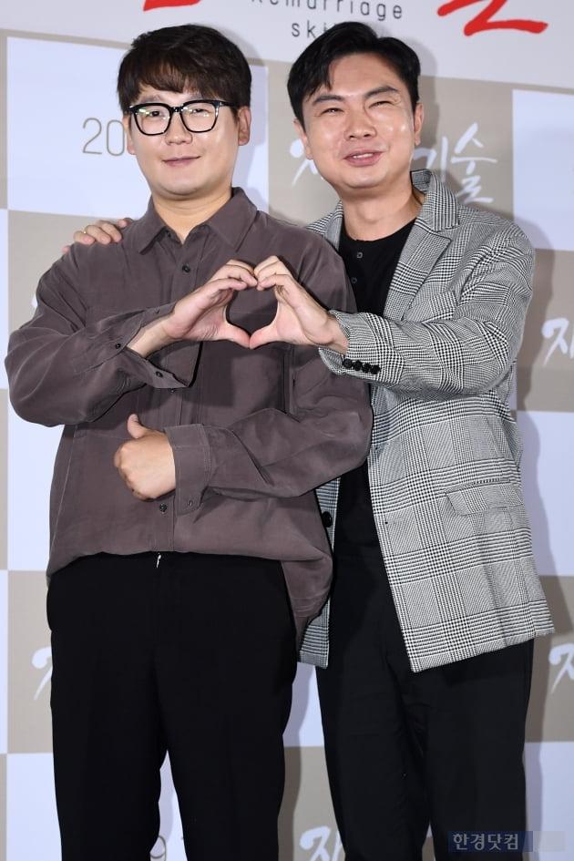 [포토] 김강현-임원희, '브로맨스 기대하세요~'