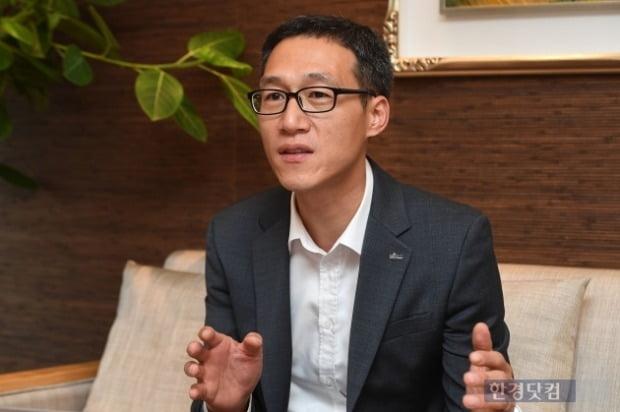 우병탁 신한은행 부동산투자자문센터 팀장.(사진=최혁 기자)
