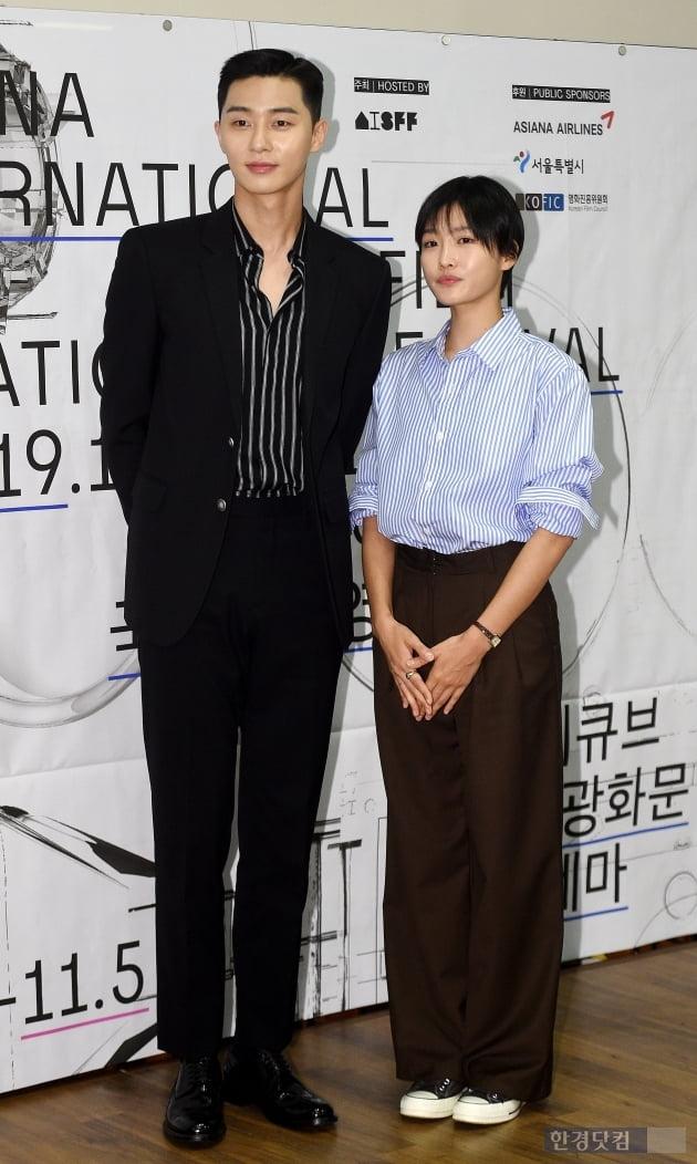 [포토] 박서준-주보영, '아시아나국제단편영화제 특별심사위원'