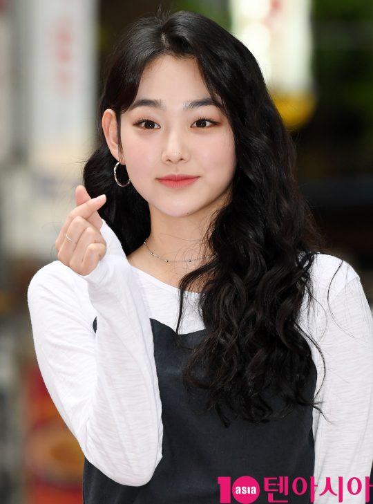 구구단 미나가 1일 오후 서울 여의도 한 음식점에서 열린 tvN 토일드라마 '호텔 델루나' 종방연에 참석하고 있다.