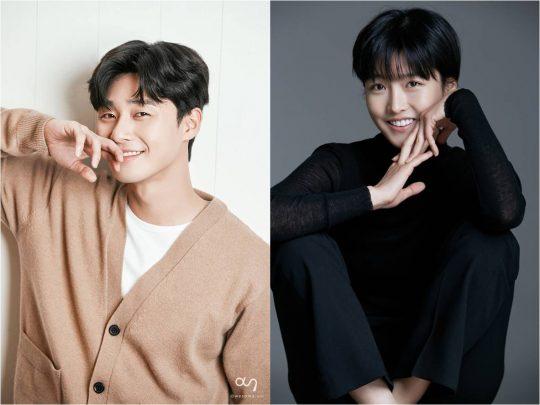 배우 박서준(왼쪽), 주보영. /사진제공=아시아나국제단편영화제