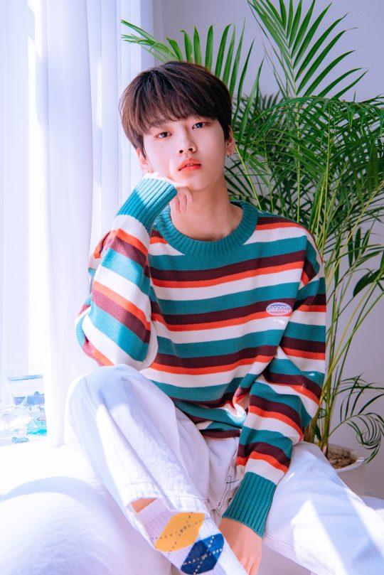 Mnet '프로듀스 X 101' 출신 강석화 / 사진제공=위엔터테인먼트