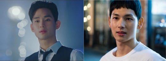 김수현(왼쪽), 임시완./ 사진=tvN, OCN 방송화면