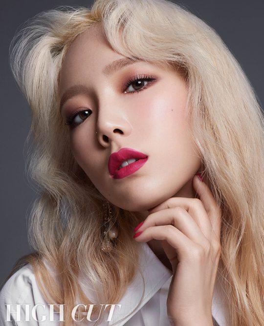 그룹 소녀시대의 태연 / 시진제공=하이컷