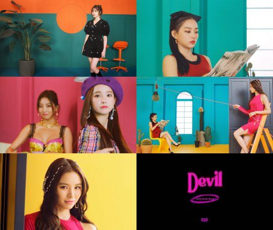 그룹 씨엘씨(CLC), 'Devil' 뮤직비디오 티저 영상 / 사진제공=큐브엔터테인먼트