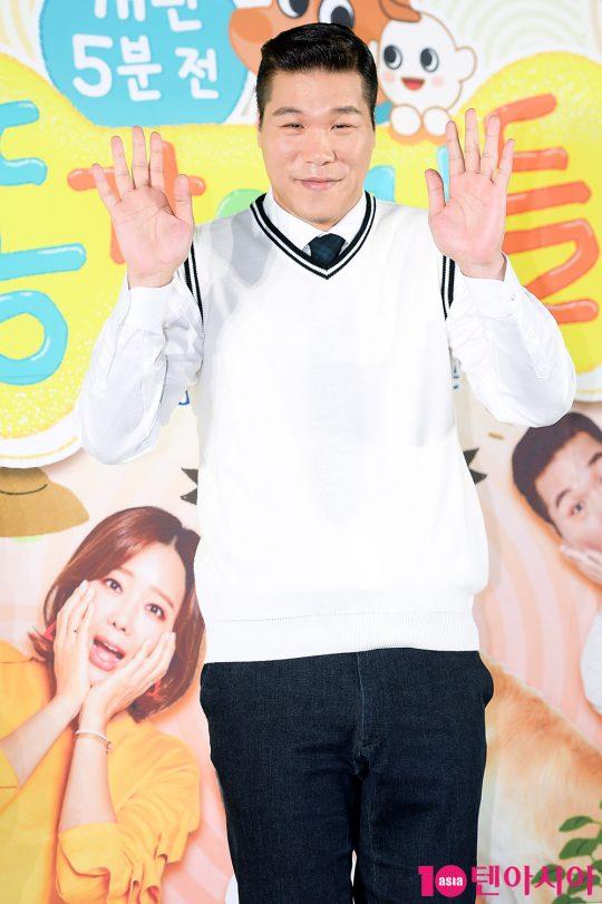 배우 서장훈이 6일 오전 서울 상암동 SBS프리즘타워에서 열린 '똥강아지들' 제작발표회에 참석했다. /서예진 기자 yejin@